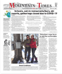 Mountain Times: Volume 49, Number 12- March 18-24, 2020