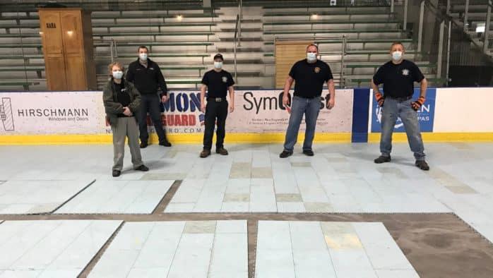 RRMC prepares surge location at Spartan Arena