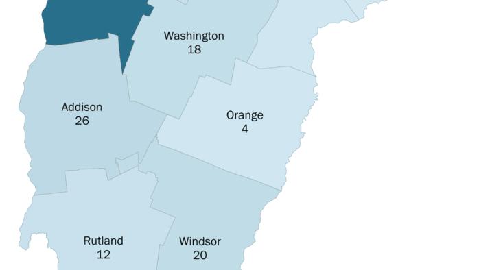 Update on Vermont coronavirus cases, April 2