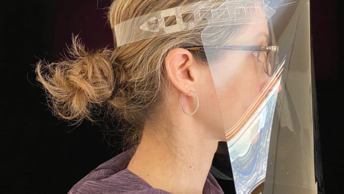 MINT to make 10,000 face shields for RRMC