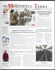 Mountain Times- Volume 49, Number 18 – April 29 – May 5, 2020