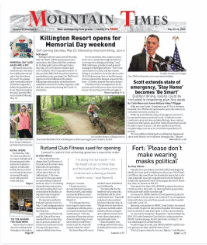 Mountain Times – Volume 49, Number 21 – May 20-26, 2020