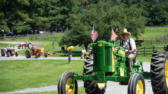 Billings Farm hosts Antique Tractor Day, Sunday