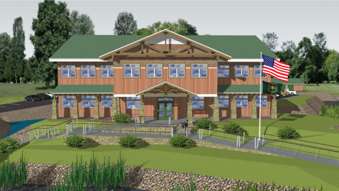 New $6 million GMNF office to be built in Mendon