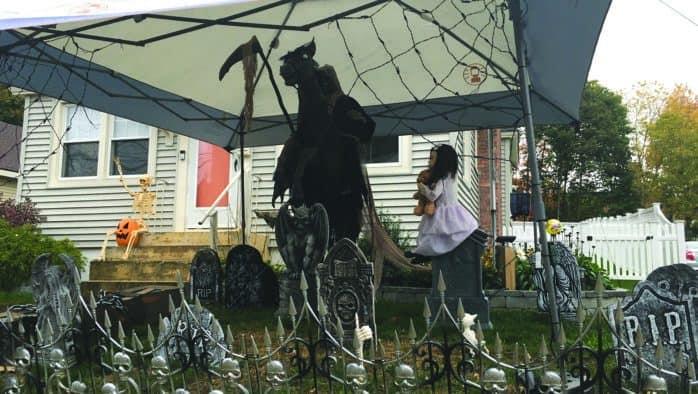 Spooks abound in Rutland, despite cancellation of parade