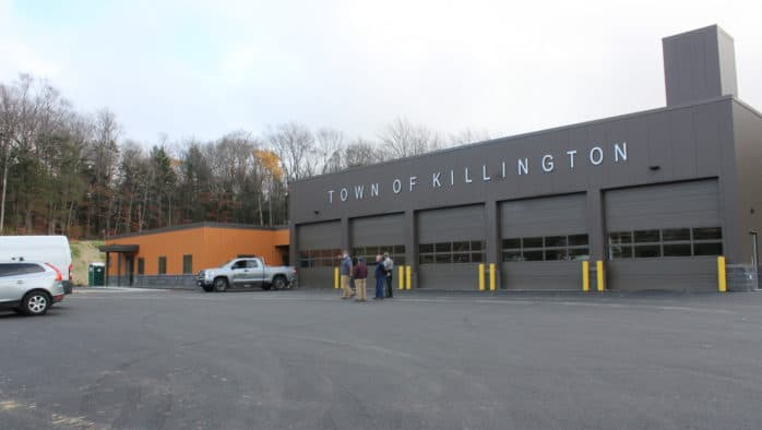 Killington Public Safety Building prepares to open, budget shortfall discussed