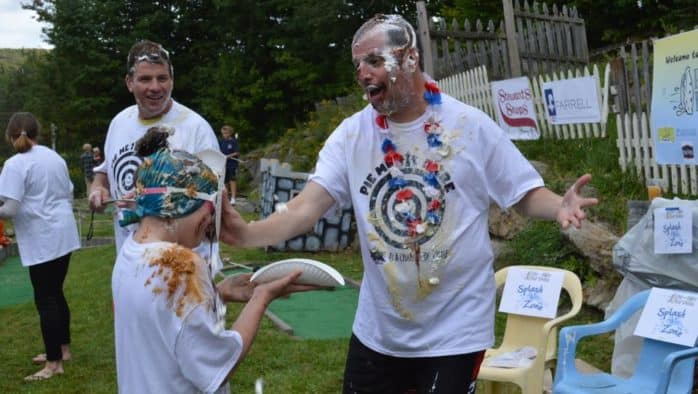 Pie in the Face for Chase expands