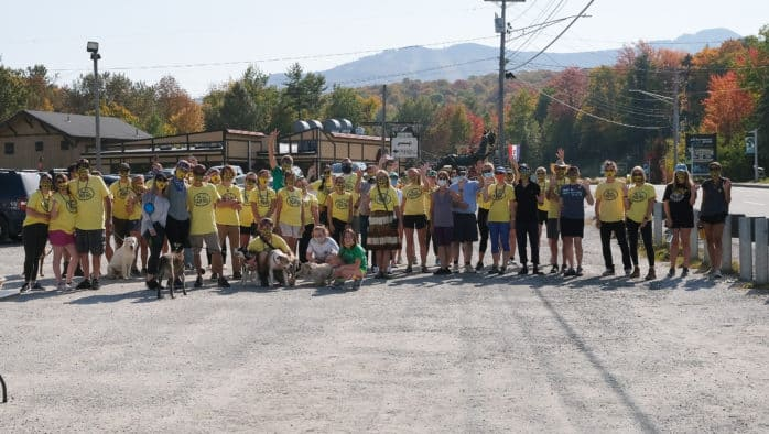 Killington walks for suicide prevention