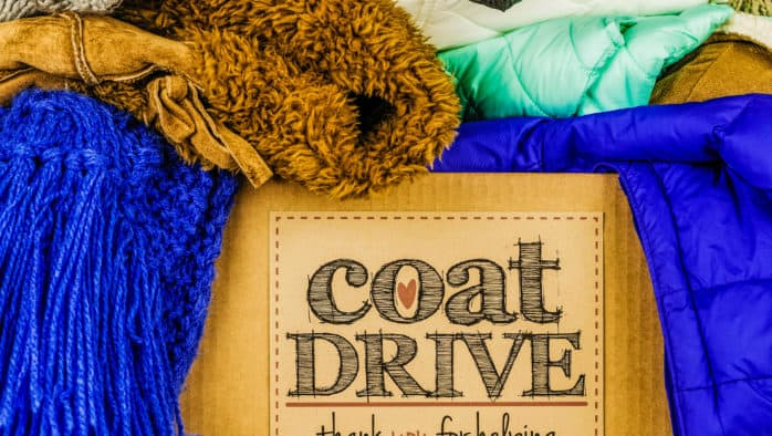Mission Farm hosts annual coat drive, blessing