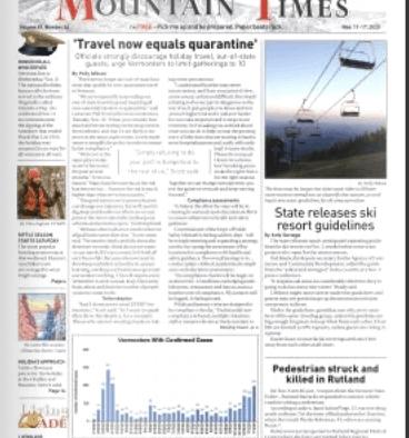 Mountain Times – Volume 49, Number 46 – Nov. 11-17, 2020