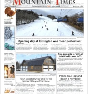 Mountain Times – Volume 49, Number 48 – Nov. 25- Dec. 2, 2020