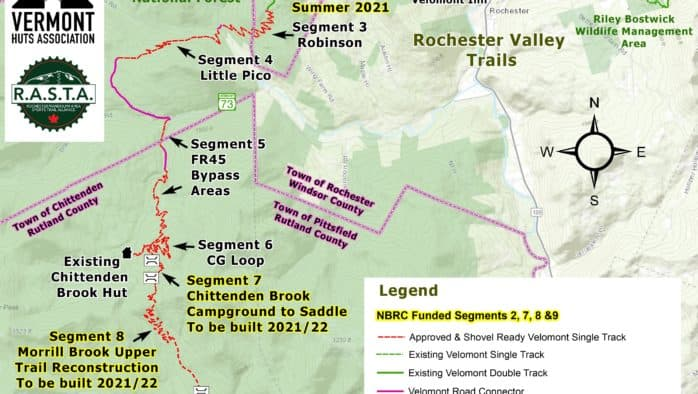 Grant brings statewide Velomont trail and connected huts system closer to reality