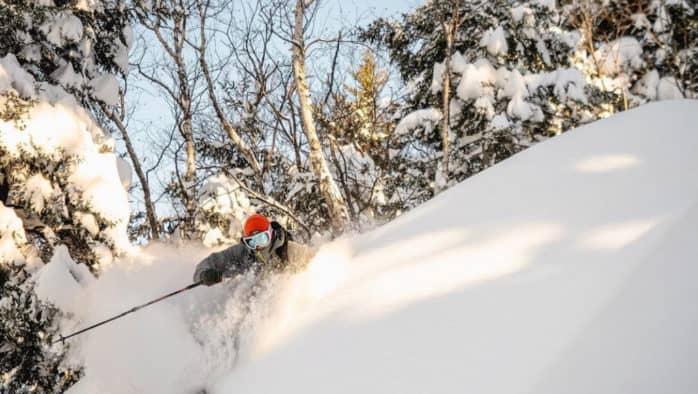 Skiers, riders celebrate snow