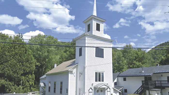 Community Cupboard food pantry is available in Killington