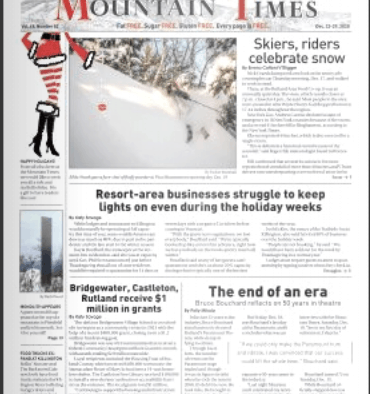 Mountain Times – Volume 49, Number 52 – Dec. 23-29, 2020