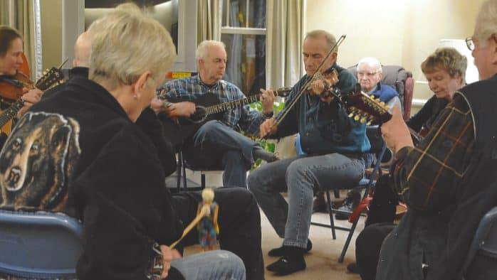 Acoustic song circle continues, virtually
