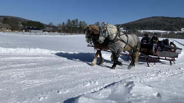 Sleigh rides, s'mores and Victorian traditions