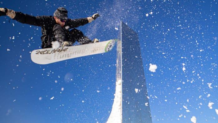 Darkside Snowboards crew shreds the monolith