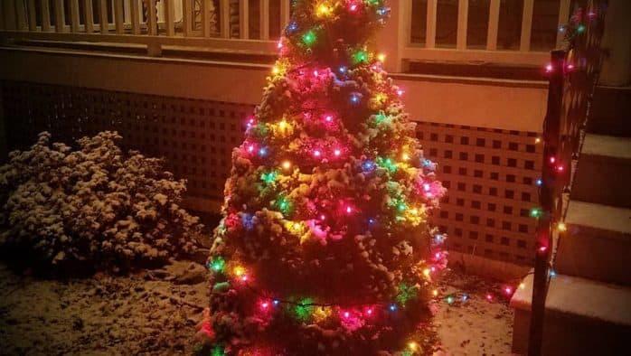Christmas light alert!