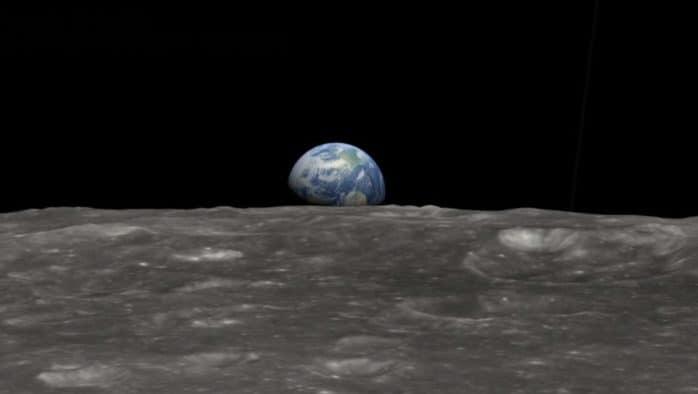 Earth rising in 2021?