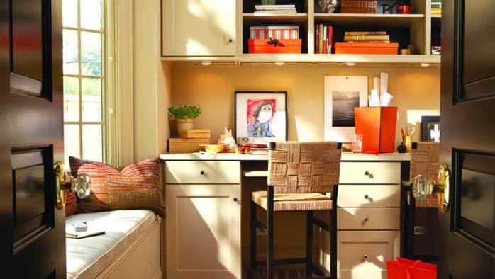 Six steps to organizing your home office