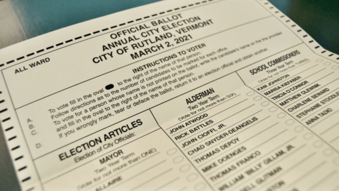 Universal mail-in voting becomes law in Vermont