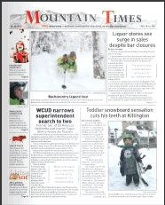 Mountain Times – Volume 50, Number 6 – Feb. 10-16, 2021