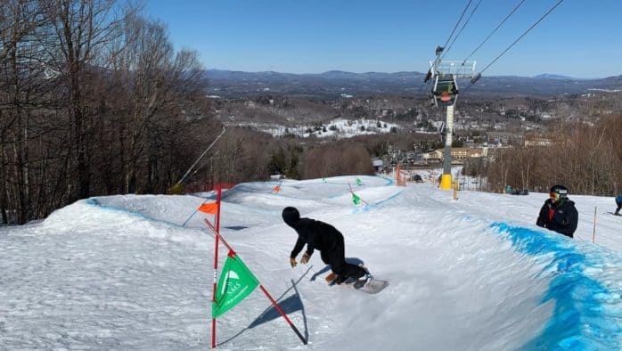 The Vermont Open Banked Slalom goes off without a hitch at Stratton Mountain Resort