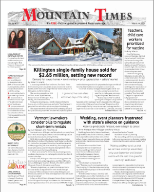 Mountain Times – Volume, Number 9 – March 3-9, 2021