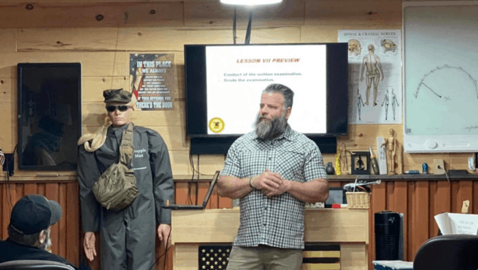 Slate Ridge tactical firearms facility stays; Banyai requests insurance, body guard for site visit