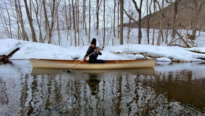 Open water: The first sign of spring