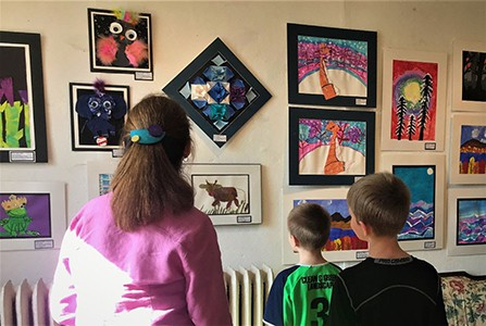 Chaffee hosts annual student exhibit and digital expression