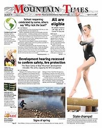 Mountain Times – Volume 50, Number 16 – April 21-27, 2021