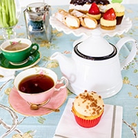 Sign up for Mother's Day afternoon tea take-out