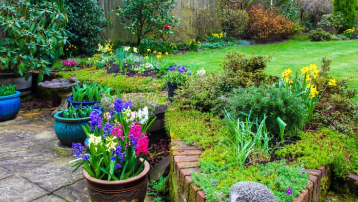 Planting containers and other April gardening tips
