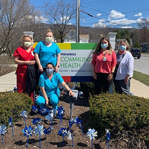 Pinwheels remind community to help prevent child abuse