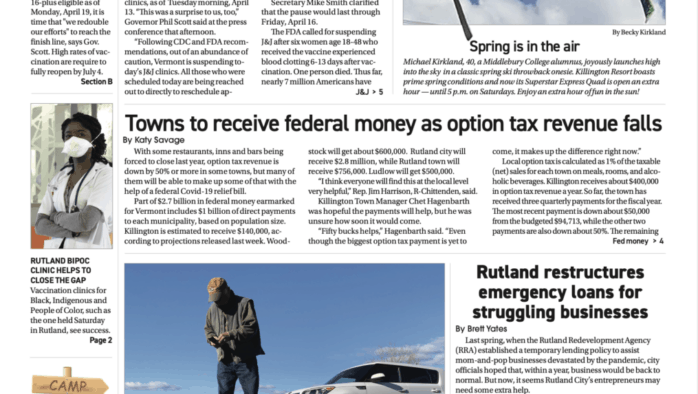 Mountain Times – Volume 50, Number 15 – April 14-20, 2021