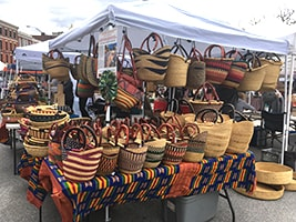 First day of the Vermont summer Farmers' Market was a feast for the senses
