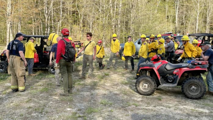 Killington sends letter of thanks for mutual aid provided to suppress forest fire