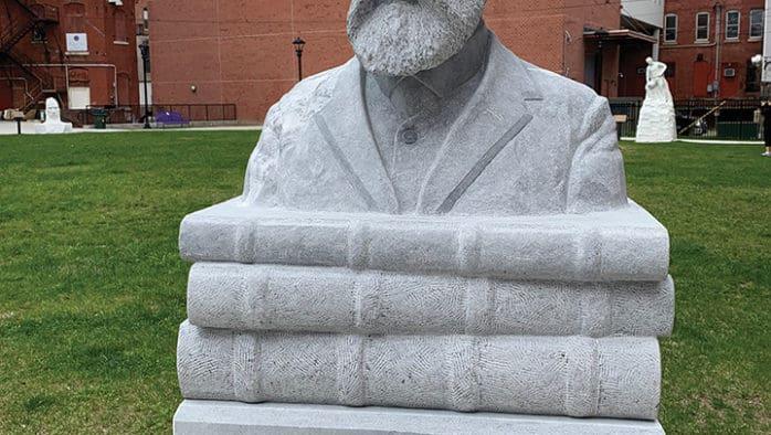 Dedication of Freeman sculpture Thursday, marks his 195thbirthday