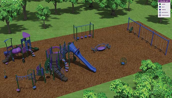 Kids Kingdom to be replaced at Killington Elementary