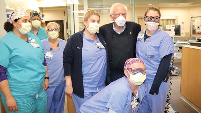 Sen. Bernie Sanders tours Rutland County
