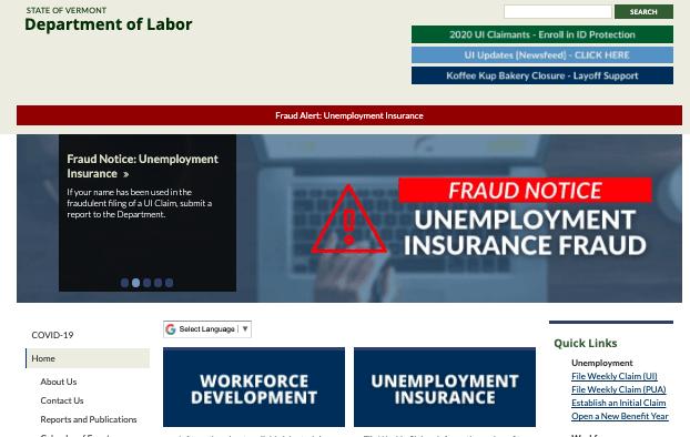 Unemployment fraud shuts down portal