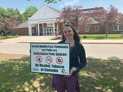 Reminder: City parks/recreation space is substance free