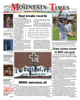 Mountain Times – Volume 50, Number 23 – June 9-15, 2021