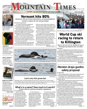 Mountain Times – Volume 50, Number 24 – June 16-22, 2021