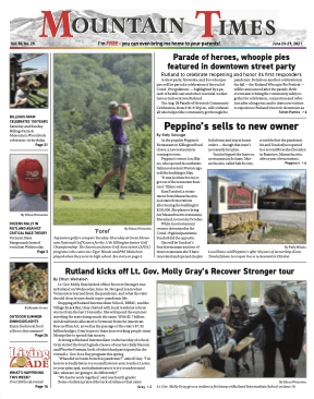 Mountain Times Volume 50, Number 25 – June 23-29, 2021