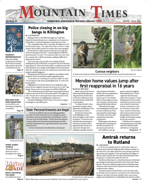 Mountain Times – Volume 50, Number 26 – June 30 – July 6, 2021