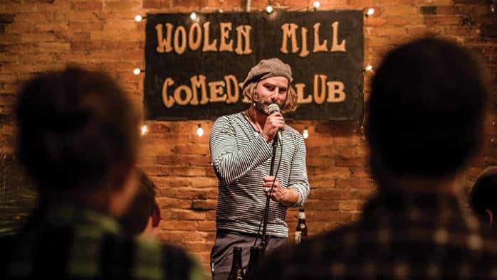 Rockin' the Region at the Woolen Mill Comedy Club