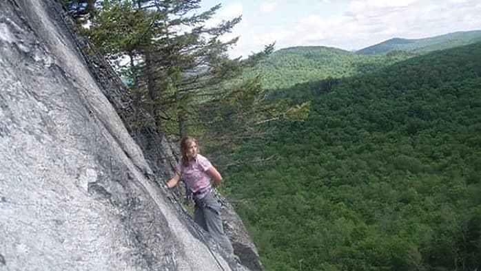 Mastering composure on the crag